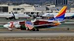 Bluewingさんが、ロサンゼルス国際空港で撮影したサウスウェスト航空 737-7H4の航空フォト(写真)