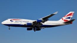 Bluewingさんが、ロサンゼルス国際空港で撮影したブリティッシュ・エアウェイズ 747-436の航空フォト(飛行機 写真・画像)