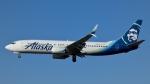 Bluewingさんが、ロサンゼルス国際空港で撮影したアラスカ航空 737-890の航空フォト(写真)