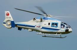 ブルーさんさんが、東京臨海広域防災公園ヘリポートで撮影した宇宙航空研究開発機構 MH2000Aの航空フォト(飛行機 写真・画像)