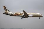 Cozy Gotoさんが、成田国際空港で撮影したエティハド航空 787-9の航空フォト(写真)