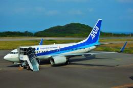 ちっとろむさんが、大島空港で撮影した全日空 737-781の航空フォト(飛行機 写真・画像)
