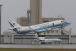 木人さんが、那覇空港で撮影した海上保安庁 Falcon 2000EXの航空フォト(写真)