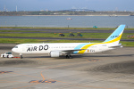 ryu330さんが、羽田空港で撮影したAIR DO 767-33A/ERの航空フォト(写真)