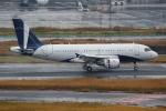 TIA spotterさんが、羽田空港で撮影したグローバル・ジェット・ルクセンブルク A319-115CJの航空フォト(写真)