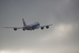 JA8037さんが、フランクフルト国際空港で撮影したカーゴロジックエア 747-83QFの航空フォト(飛行機 写真・画像)