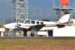 Tango-4さんが、高知空港で撮影した朝日航空 Baron G58の航空フォト(写真)