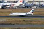 スポット110さんが、羽田空港で撮影したネットジェッツ・エイビエーション 737-7BC BBJの航空フォト(写真)