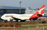 スポット110さんが、羽田空港で撮影したカンタス航空 747-438/ERの航空フォト(写真)