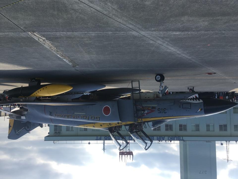 485k60さんの航空自衛隊 Mitsubishi F-4EJ Kai Phantom II (37-8315) 航空フォト