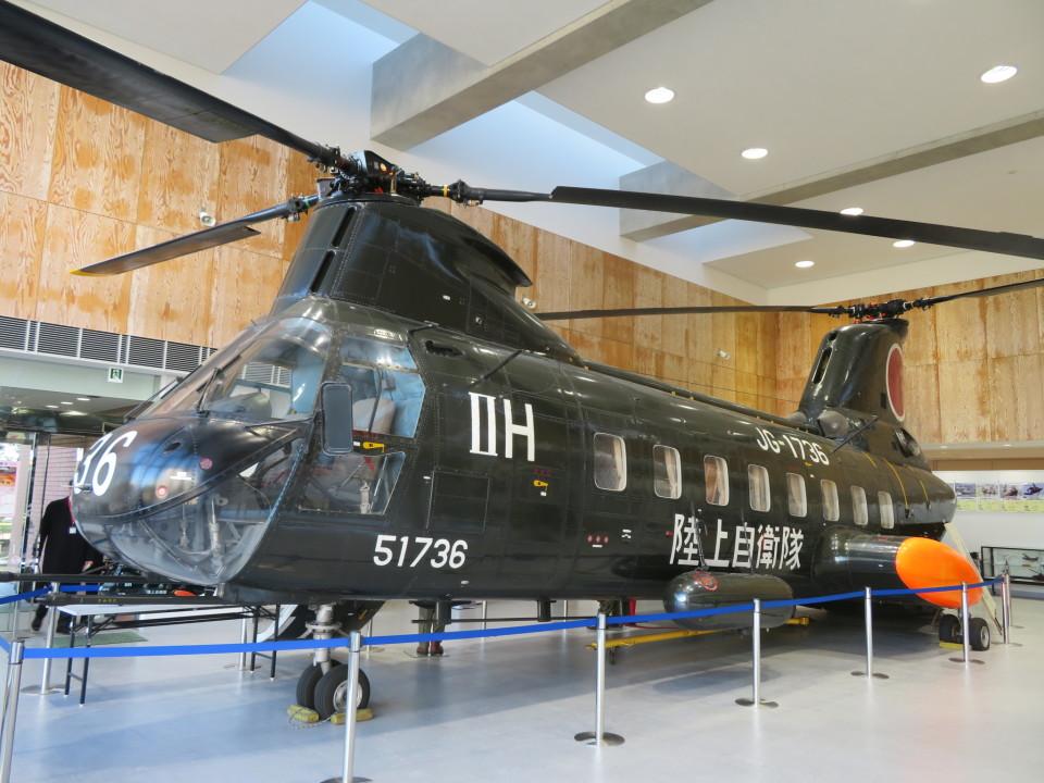 ランチパッドさんの陸上自衛隊 Kawasaki V-107 (51736) 航空フォト