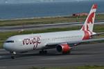 k-spotterさんが、関西国際空港で撮影したエア・カナダ・ルージュ 767-35H/ERの航空フォト(写真)