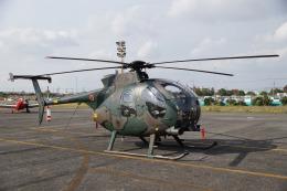 神宮寺ももさんが、岡南飛行場で撮影した陸上自衛隊 OH-6Dの航空フォト(飛行機 写真・画像)
