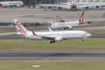 Koenig117さんが、シドニー国際空港で撮影したヴァージン・オーストラリア 737-8KGの航空フォト(写真)