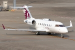 Ariesさんが、羽田空港で撮影したカタール・エグゼクティブ CL-600-2B16 Challenger 605の航空フォト(写真)