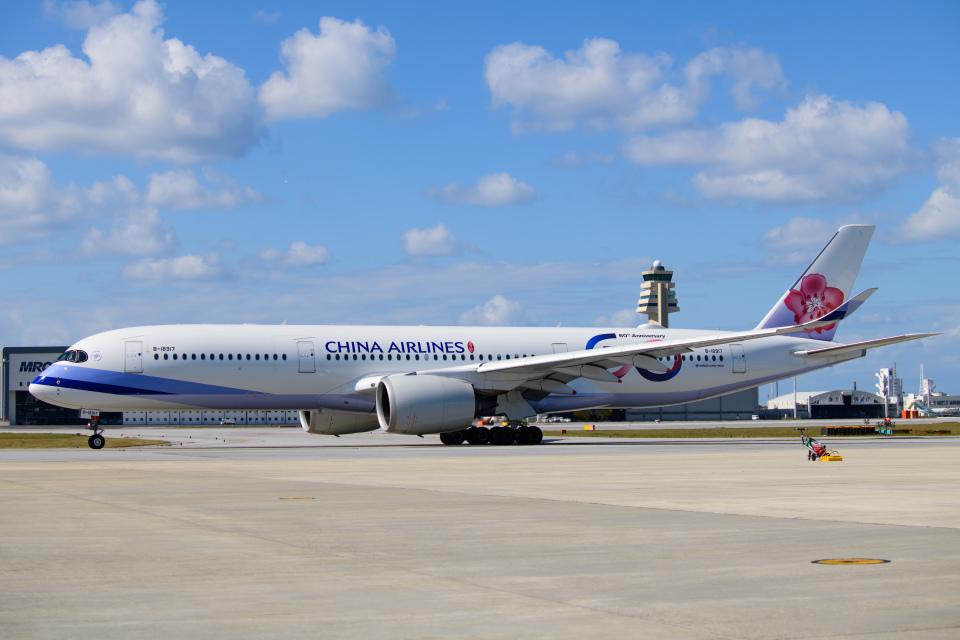 kuraykiさんのチャイナエアライン Airbus A350-900 (B-18917) 航空フォト