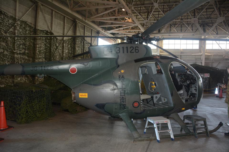 banshee02さんの陸上自衛隊 Kawasaki OH-6D (31126) 航空フォト