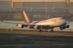 やまけんさんが、羽田空港で撮影したタイ国際航空 747-4D7の航空フォト(写真)