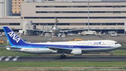 Cassiopeia737さんが、羽田空港で撮影した全日空 767-381/ERの航空フォト(飛行機 写真・画像)