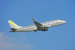 ちゃぽんさんが、鹿児島空港で撮影したフジドリームエアラインズ ERJ-170-200 (ERJ-175STD)の航空フォト(飛行機 写真・画像)
