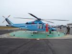 otromarkさんが、八尾空港で撮影した大阪府警察 AW139の航空フォト(飛行機 写真・画像)