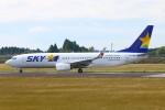 Kuuさんが、鹿児島空港で撮影したスカイマーク 737-86Nの航空フォト(飛行機 写真・画像)