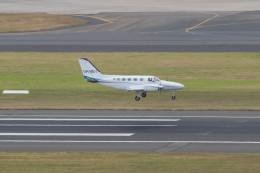 Koenig117さんが、シドニー国際空港で撮影したコーポレート・エア 441 Conquest IIの航空フォト(飛行機 写真・画像)