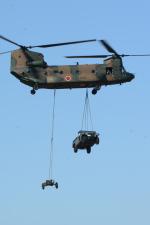 banshee02さんが、木更津飛行場で撮影した陸上自衛隊 CH-47JAの航空フォト(写真)