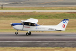 yabyanさんが、名古屋飛行場で撮影した本田航空 172S Skyhawk SPの航空フォト(飛行機 写真・画像)