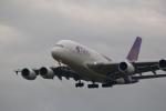 VFRさんが、成田国際空港で撮影したタイ国際航空 A380-841の航空フォト(写真)