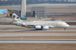 OMAさんが、仁川国際空港で撮影したエティハド航空 A380-861の航空フォト(飛行機 写真・画像)