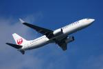 apphgさんが、羽田空港で撮影した日本トランスオーシャン航空 737-8Q3の航空フォト(写真)