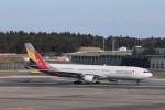KAZFLYERさんが、成田国際空港で撮影したアシアナ航空 A330-323Xの航空フォト(写真)