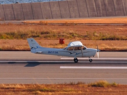 FT51ANさんが、神戸空港で撮影した学校法人ヒラタ学園 航空事業本部 172S Skyhawk SPの航空フォト(飛行機 写真・画像)