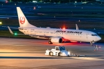 Ariesさんが、伊丹空港で撮影した日本航空 737-846の航空フォト(写真)