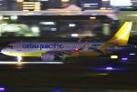 あしゅーさんが、福岡空港で撮影したセブパシフィック航空 A320-214の航空フォト(飛行機 写真・画像)