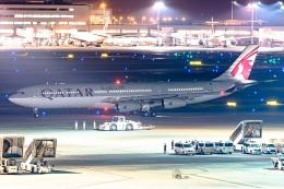 Ariesさんが、羽田空港で撮影したカタールアミリフライト A340-313Xの航空フォト(飛行機 写真・画像)