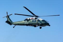 Ariesさんが、赤坂プレスセンターで撮影したアメリカ海兵隊 VH-60N White Hawk (S-70A)の航空フォト(飛行機 写真・画像)