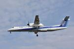 ワイエスさんが、鹿児島空港で撮影したANAウイングス DHC-8-402Q Dash 8の航空フォト(飛行機 写真・画像)