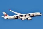 SKY TEAM B-6053さんが、羽田空港で撮影した日本航空 A350-941XWBの航空フォト(写真)