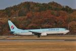 だいまる。さんが、岡山空港で撮影した大韓航空 737-9B5の航空フォト(飛行機 写真・画像)