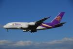 ITM58さんが、成田国際空港で撮影したタイ国際航空 A380-841の航空フォト(写真)