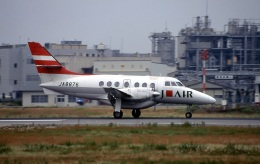 LEVEL789さんが、松山空港で撮影したジェイ・エア BAe-3216 Jetstream Super 31の航空フォト(飛行機 写真・画像)