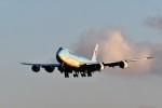 おかめさんが、成田国際空港で撮影した大韓航空 747-8HTFの航空フォト(写真)
