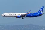 Tomo-Papaさんが、ロサンゼルス国際空港で撮影したアラスカ航空 737-990/ERの航空フォト(写真)