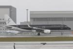 木人さんが、那覇空港で撮影したスターフライヤー A320-214の航空フォト(写真)