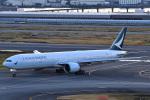 HISAHIさんが、羽田空港で撮影したキャセイパシフィック航空 777-367/ERの航空フォト(写真)