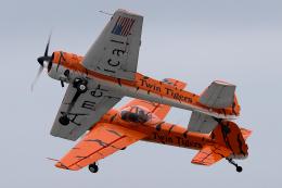 AkiChup0nさんが、ペンサコーラ海軍航空ステーションで撮影したTWIN TIGERS Yak-55の航空フォト(飛行機 写真・画像)