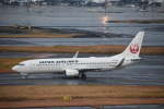 セッキーさんが、羽田空港で撮影した日本航空 737-846の航空フォト(写真)
