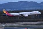 k-spotterさんが、新千歳空港で撮影したアシアナ航空 A321-231の航空フォト(写真)